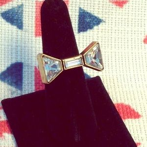 Marc by Marc Jacobs Crystal Bow Ring